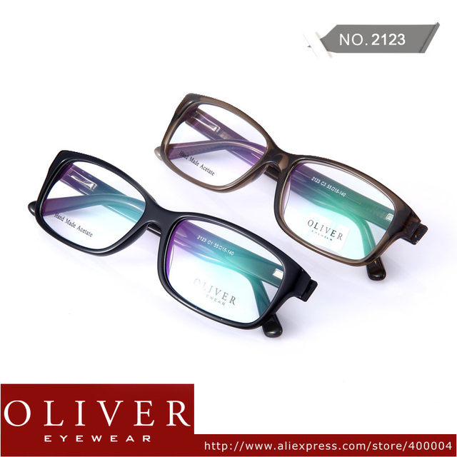 Wholesales!2013 Retro Frame Optical Frame Men Oliver Brand Eyewear Frames For Men 2123  Free Shipping!