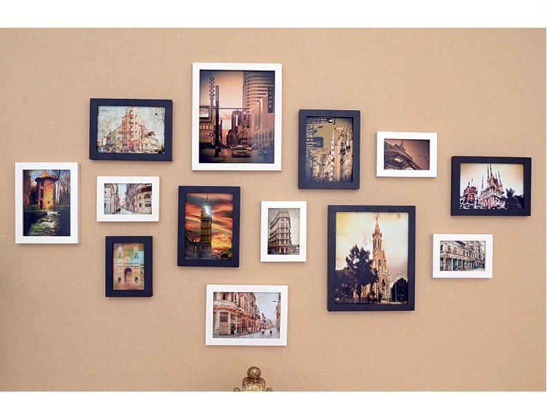 marcos para fotos marcos para 7 fotos. Black Bedroom Furniture Sets. Home Design Ideas