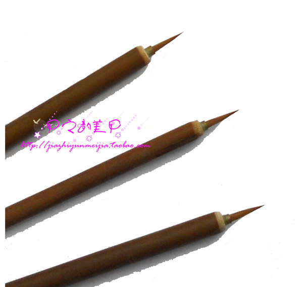 nail art colored drawing point paint brush line pen hook line colored drawing  pen free shipping