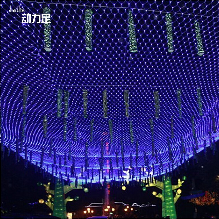 tree light Picture - More Detailed Picture about 6x4m Led net lights fishing net lamp led ...