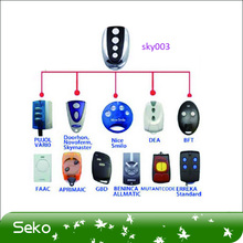 promotion sale compatible with 12 brand garage door remote key duplicator/garage door - rolling code, frequency 433,92 MHz(China (Mainland))