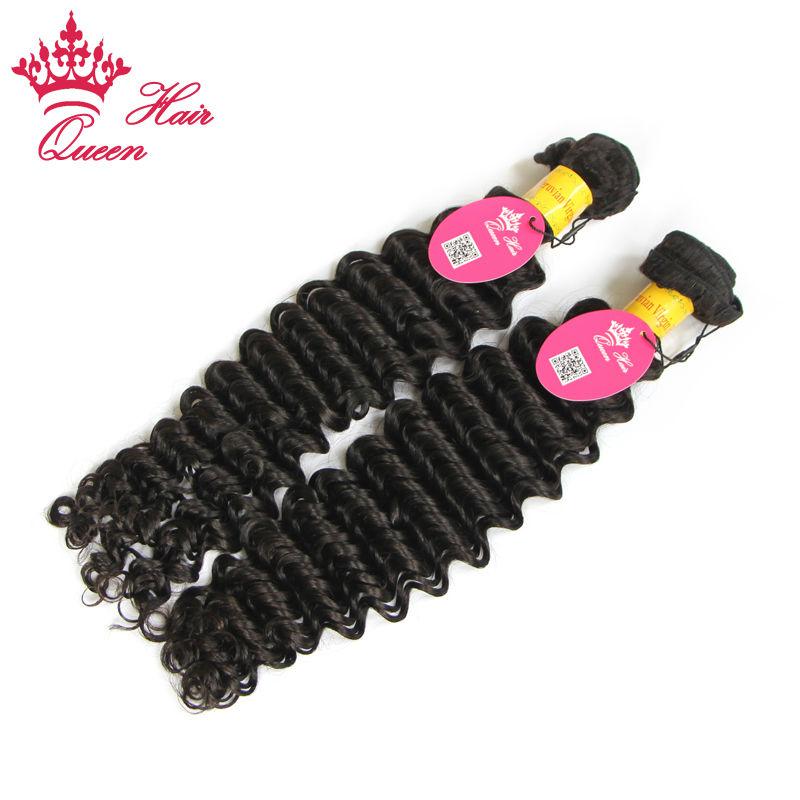Queen Hair Unprocessed Peruvian Deep Wave Virgin Hair Human Hair Extensions 2pcs/lot Deep Curly Virgin Hair DHL Free Shipping<br><br>Aliexpress