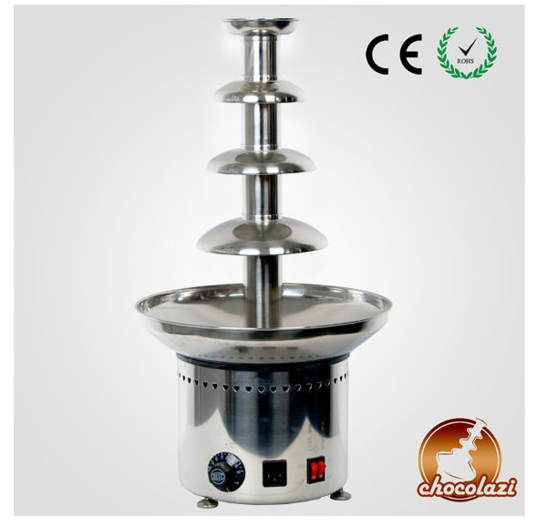 NO.1 FREE FEDEX Fantastic Chocolate Fountain Fondue Stainless steel Machine 4 Tier Self-melt Top Quality<br><br>Aliexpress