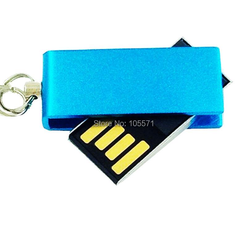 Unique Desgin Mini Metal Rotate Thumb drive usb flash drives pen drive 4gb 8gb 16gb 32gb usb flash pendrive(China (Mainland))
