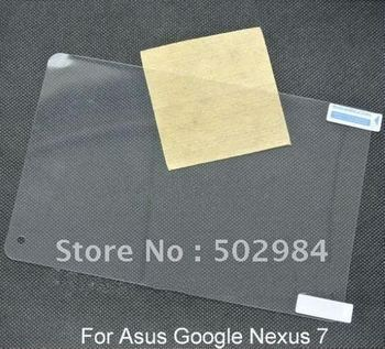 New Arrival High Clear LCD Screen Protector for Asus Google Nexus 7 Tablet PC Film Guard Shield Skin Cover 20pcs free shipping