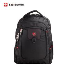 Marca de Moda 15.6 hombres bolsa de ordenador portátil Swisswin mochila bolso de las mujeres clásicas ocasionales swissgear wenger mochila multifuncional Mochila de Nylon