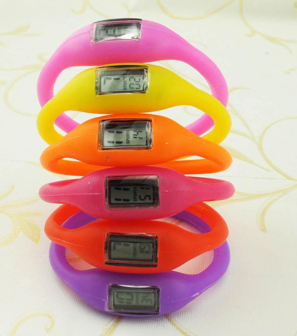 2015 wholesale fashion NEW Arrival Anion Waterproof Sports Wrist Bracelet Watch men women Digital LED Watch