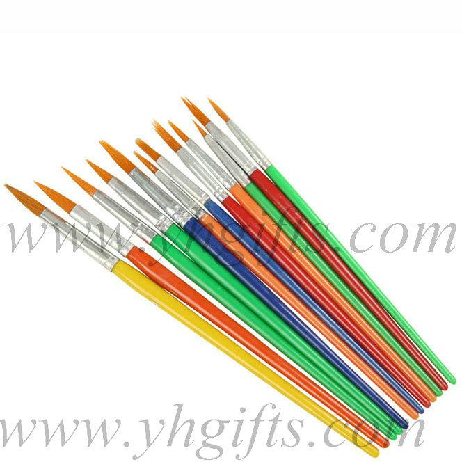 72pcs lot mixed size paint brushes artist pen watercolor for Wholesale craft paint brushes