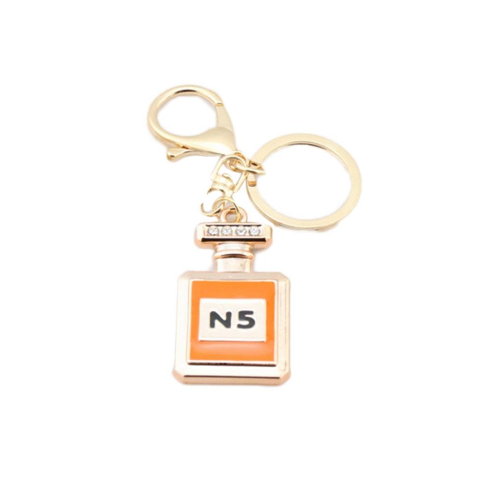Perfume Bottle Luxury Keychain Key Chain & Key Ring Holder Keyring Porte clef Gift Men Women Souvenirs Bag Pendant Car(China (Mainland))