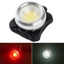 Buy 5 modes Ultra-bright USB Rechargeable Cycling Lights Bicycle Bike COB LED Head Front Rear Tail Clip Warning Light Lamp NEW Hot for $5.22 in AliExpress store