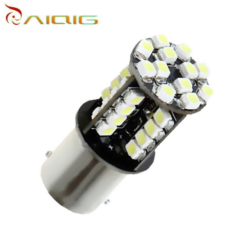 1156 BA15S 44 SMD White CANBUS OBC Error led lamp p21w R5W car bulbs Turn Signal Lights Car Light Source parking 12V - Ming Hui Technology co., LTD store