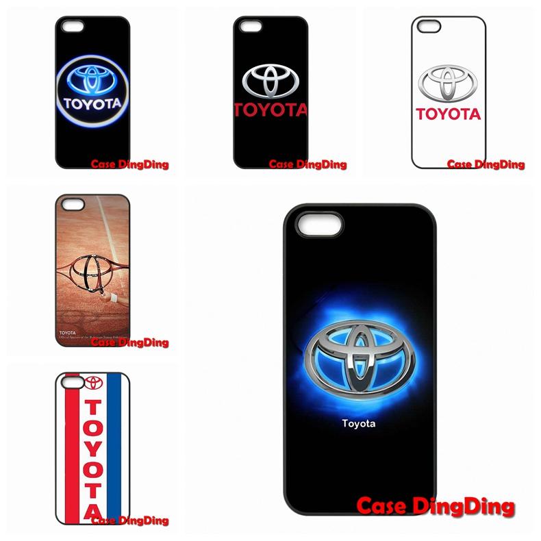 Luxury Toyota Logo For Moto X1 X2 G1 E1 Razr D1 Razr D3 Apple iPod Touch 4 5 6 iPhone 4 4S 5 5C SE 6 6S Plus(China (Mainland))