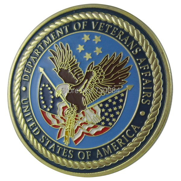 Buy united states military department of veterans affairs 24k gp challenge coin - Us department of state bureau of administration ...