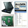 V10 53 Alldata Ready to work alldata software and mitchell software 2015 with 1TB HDD installed