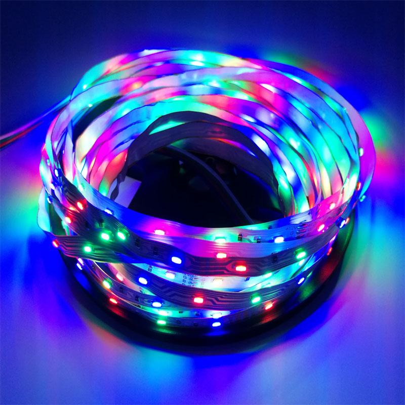 RGB LED Strip 3014 DC12V 54LEDs/m 5m/lot Flexible LED Light RGB 5050 LED Strip(China (Mainland))