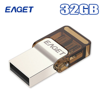 Eaget V9 new OTG flash drive, high quality 16g, 32g, 64G intelligent mobile phone micro USB memory stick, USB2.0. Free Delivery