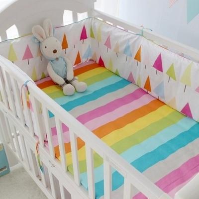 Детская кроватка Бамперы 1 шт. 6 Стили Хлопок Детская Кровать Бампер Лайнер Ребенка ...