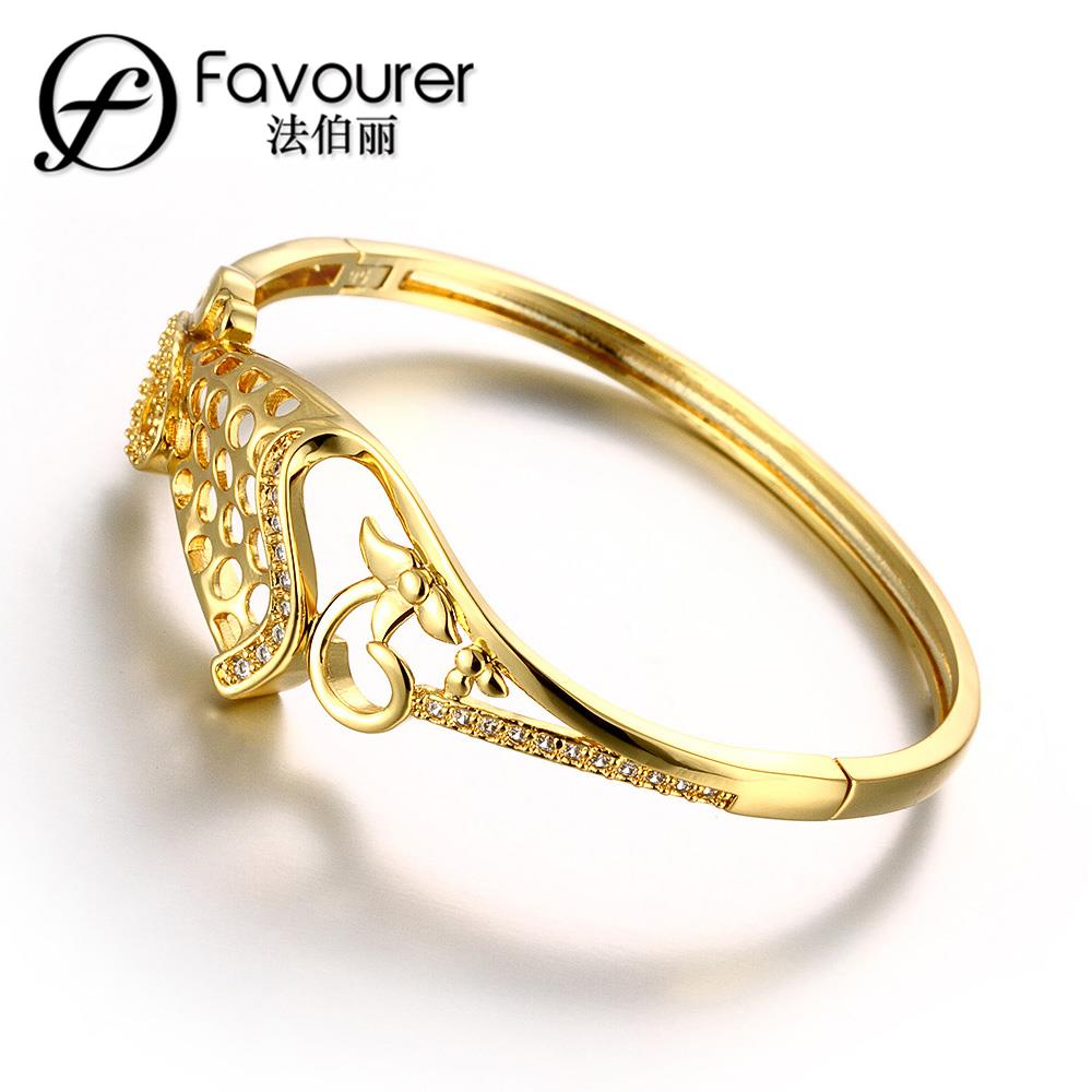 2015 new famous brand jewelry 18k rose yellow gold plated for Is gold plated jewelry worth anything