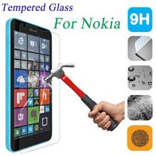 9 H 2.5D закаленное стекло протектор защитная пленка для Nokia Lumia 435 520 530 535 630 640 730 820 920 1020 1320 1520 XL