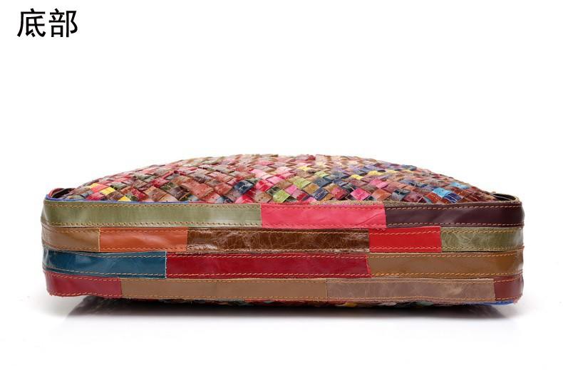 биржи femininas натуральная кожа сумка для женщин messenger сумки Винтаж вязание женщин сумочка через плечо Сумки на плечо биржи, y100