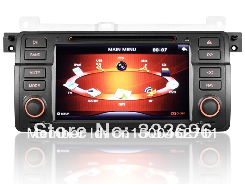 car dvd player gps navigation rds for bmw 3 series e46 m3. Black Bedroom Furniture Sets. Home Design Ideas
