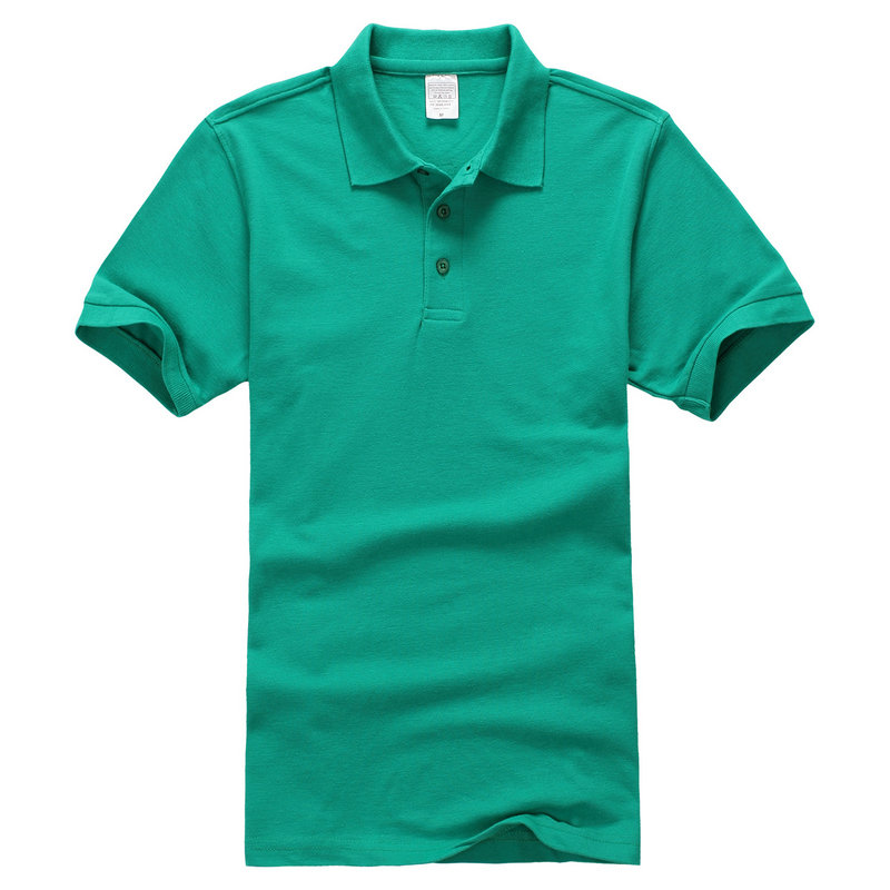 High Quality Casual Polo Shirt Men Solid Polo Shirt Brands