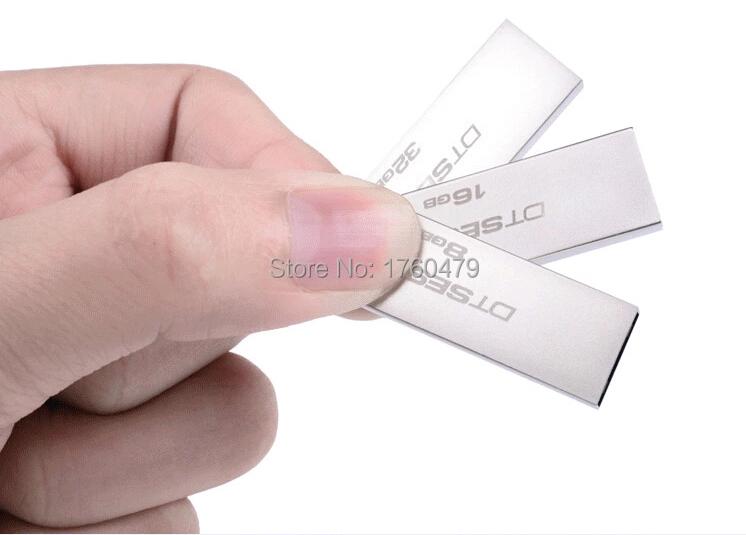 Hot sale plate ultra-thin waterproof mini high speed metal usb flash drive personalized stick 64gb 32gb 16gb 8gb 4gb pen drive(China (Mainland))