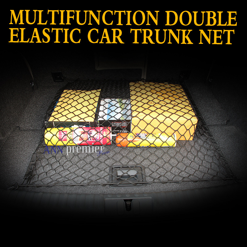 Universal Fit Trunk Cargo Net Fit For Ford Focus 2 Focus 3 Kuga Ecosport Edge Mondeo Fiesta Flex Fusion Windstar Expedition(China (Mainland))