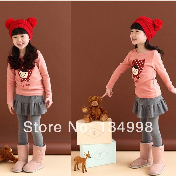 2016 NEW Spring Autumn Retail Kids Tops Cartoon Long Sleeves T shirt Children Girls Boys t shirt /kids t shirt /Children T shirt(China (Mainland))