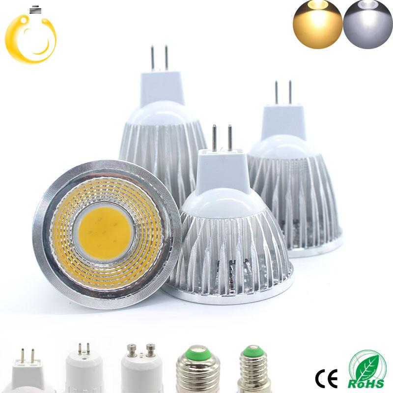 High Brightness 9W 12W 15W christmas lights E27 E14 GU10 GU5.3 MR16 220V 12V Cob led bulb lamp Warm White Cold White lampada led(China (Mainland))
