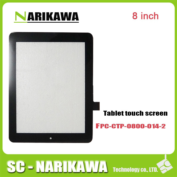 Панель для планшета For FPC-CTP-0800-014-2/1A2 touch screen 8nich fpc/ctp/0800/014/2 F0264X KCD 198 * 150 Prestigio MultiPad 2 pmp5780d 图灵程序设计丛书:嗨翻c语言