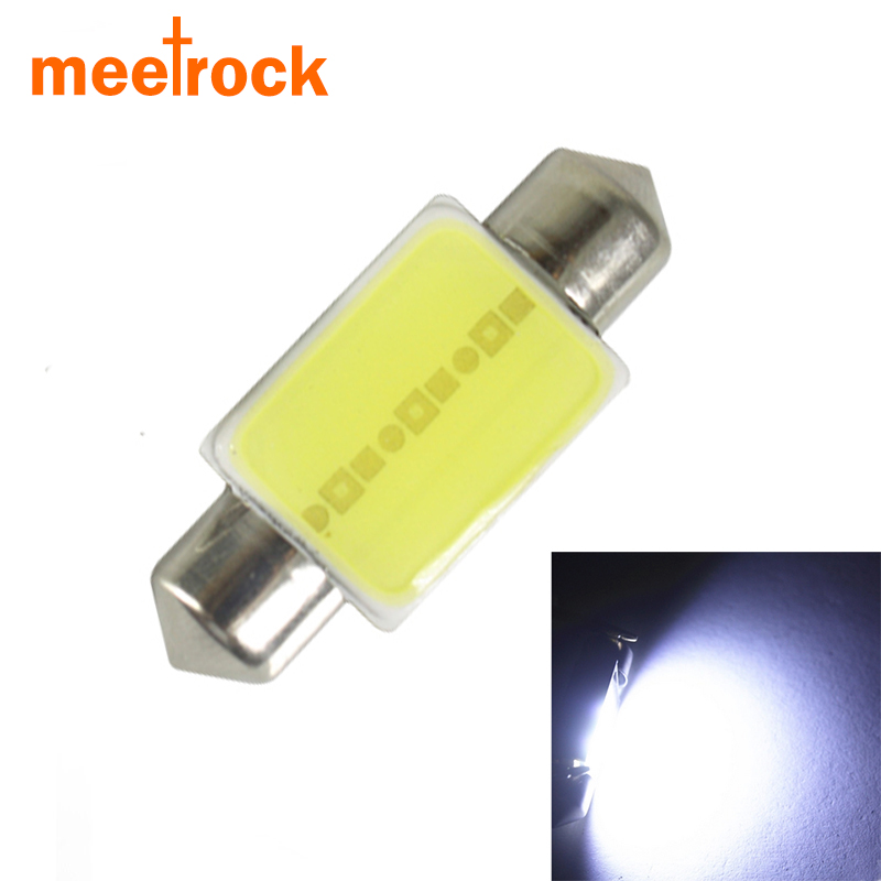 1 PCS super bright 36mm c5w festoon cob led car dome light interior reading bulb auto license plate lamp 12V roof light Source(China (Mainland))