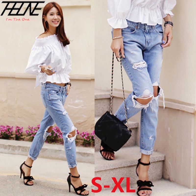 Женские джинсы ,