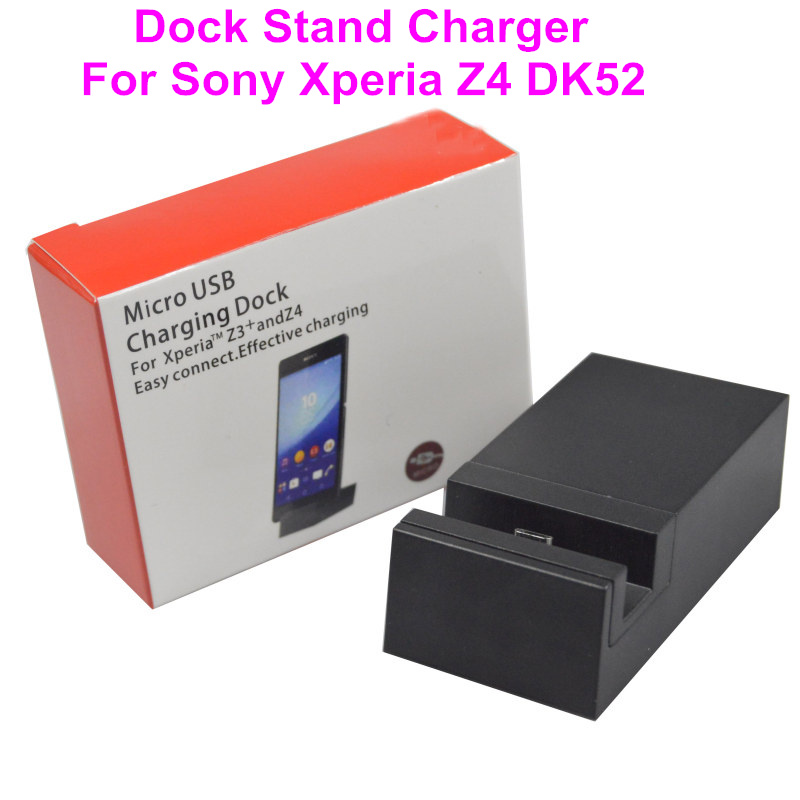Free Shipping DK52 Dock Station For SONY XPERIA Z4 Z3+ Desktop Charger With 3 Slots USB Charger Cradle(China (Mainland))