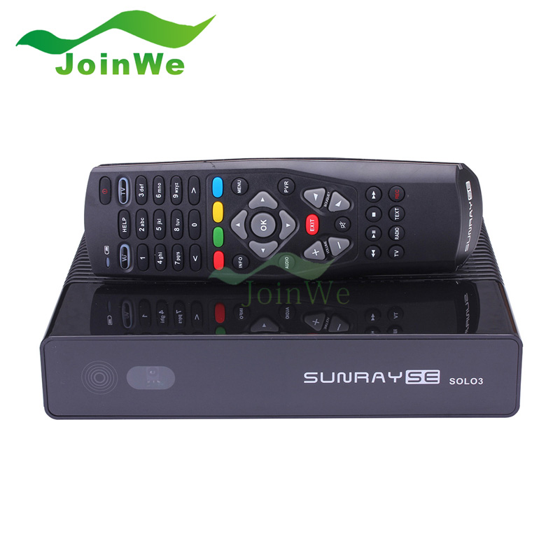 Brand New VU SOLO3 SE Decoder Satellite DVB-S2 tuner Receiver for latest TV Apk Tuner Dual Core CPU Set Top Box Sunray SE SOLO3(China (Mainland))