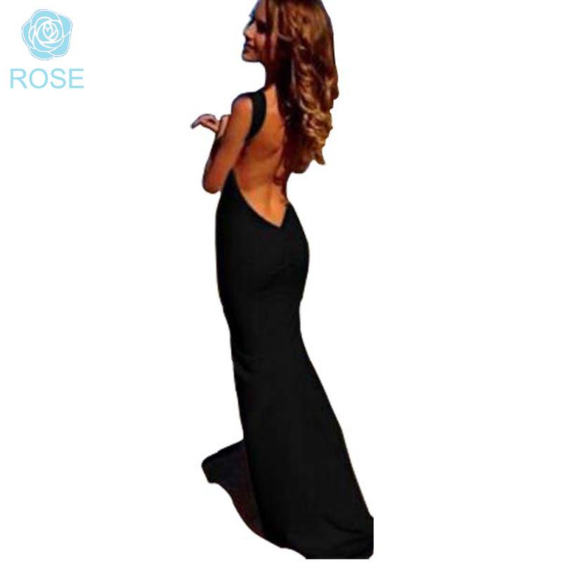 Summer Style Women Long Dress Backless Dress Sexy red white black Casual dress Floor-Length Vestidos de festa Longo 8069(China (Mainland))