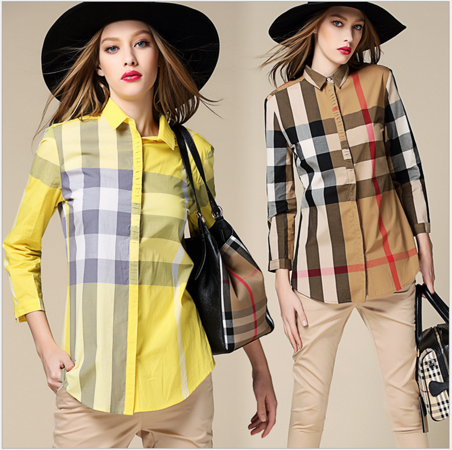 купить Женские блузки и Рубашки 2015, BUBOREEY 2 S/M/L/XL BR-6038 недорого
