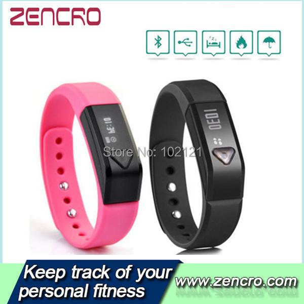 Wireless Activity Bluethooth 4.0 Wearable Technology Large Screen OLED Tracker Wristband Pedometer(China (Mainland))