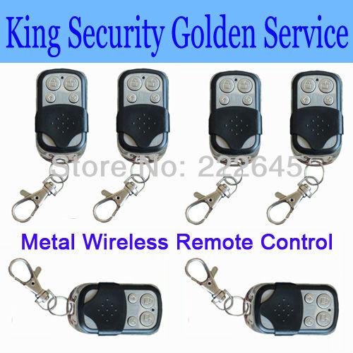 Металл беспроводная пульт дистанционного управления для для дома охранная сигнализация безопасность системы 433 мгц / 315 мгц 6 шт. / много