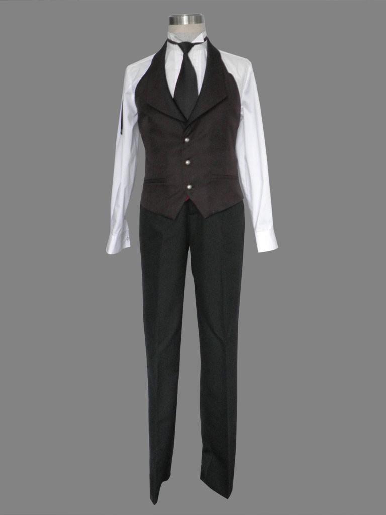 black butler kuroshitsuji sebastian uniform cosplay halloween