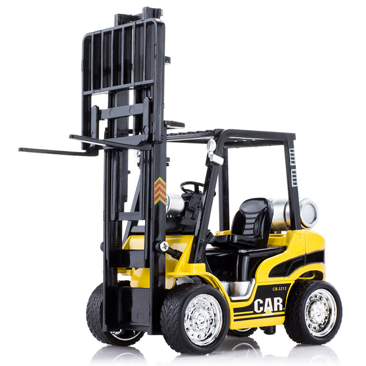 Model Alloy forklift whit model toys engineering forklift as toy car to baby toy hot wheels vehicle toys not only cars model(China (Mainland))