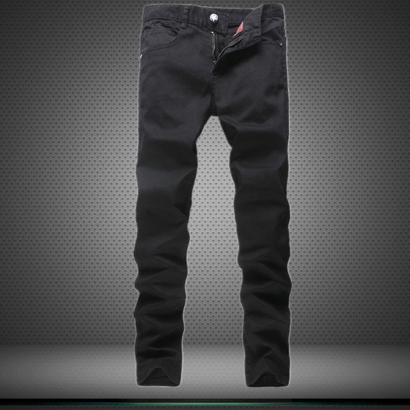 High Quality White Patchwork Jeans Men Designer Brand Ripped Biker Jeans Casual Elastic Pants Hip Hop Skinny Jeans Slim Fit