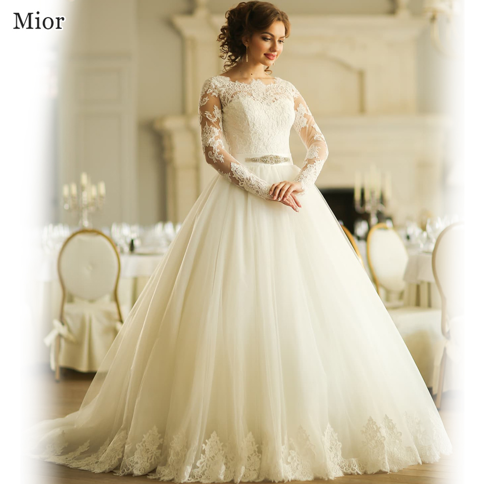 Robe de mariage princess ball gown bridal dresses lebanon for Lace wedding dresses with sleeves kleinfelds