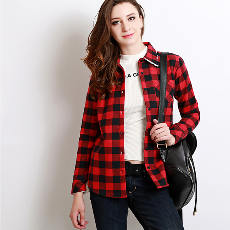 Red And Black Shirts For Womens | Is Shirt