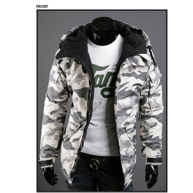 2015 England Style Men Winter Jacket Coats Military Coat Outwear Big Size Cotton Overcoat Streetwear Camouflage Men Jackets S516(China (Mainland))