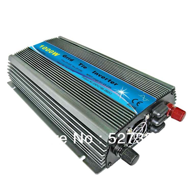 Инверторы и Преобразователи GELC 1000w DC 24v AC 220v/110v+10% MPPT GELC-GTI10