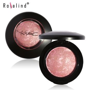 Rosalind Face Makeup Baked Blush Palette Baked Cheek Color Blusher Blush by MRC