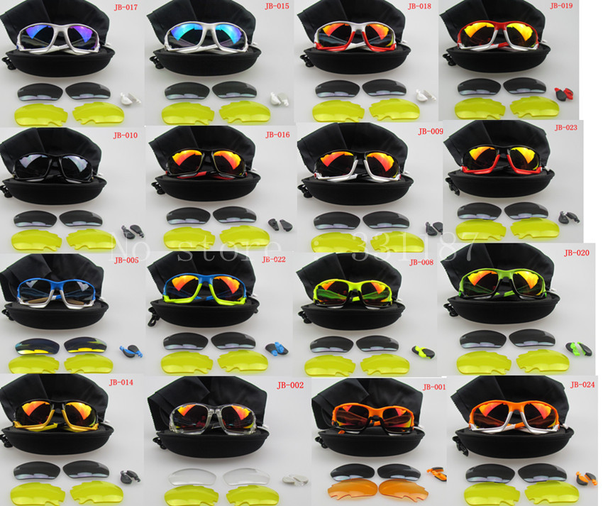 oakley glass aliexpress  brand new jawbone cycling glasses racing jacket sport sunglasses many color tr90frames 3 pairs lenses