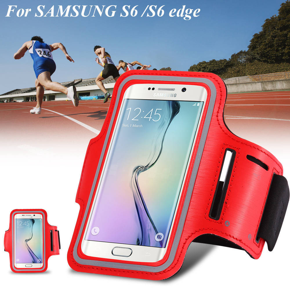 Luxury Workout Running Sport Case For Samsung Galaxy A5 / S3/ S4 / S5 / S6 / Edge for Xiaomi 4 mi4 Waterproof Arm Band Cover(China (Mainland))