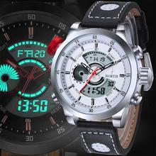 Montre Homme Waterproof Digital LED Watches Sport Men Analog Digital Watch Men Luxury Brand Quartz Wristwatch Men Sports Watches
